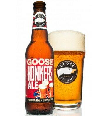 【話題のアメリカン・クラフトビール!】グースアイランド ホンカーズエール 4.3% 355ml
