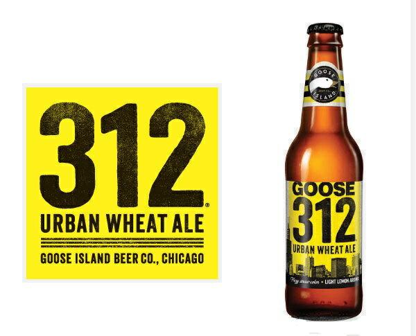 【話題のアメリカン・クラフトビール!】グースアイランド 312 アーバンウイート 4.2% 355ml