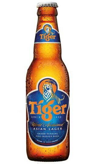 タイガー ラガービール 5.0% / 330ml / ピルスナー タイプ