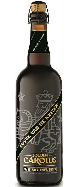 【2017年新登場!稀少なウイスキー入りビール!】 グーデンカロルス キュベ ヴァン ド ケイゼル ウィスキー インフューズド 11.7% 750ml
