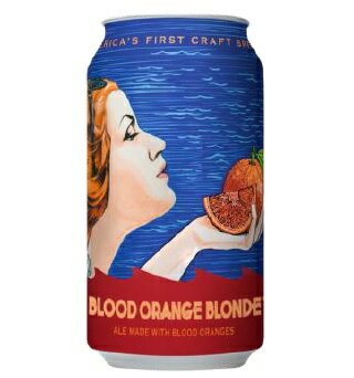 【2017年、秋限定醸造!】 アンカー ブラッドオレンジ ブロンド (缶) 4.5% 355ml