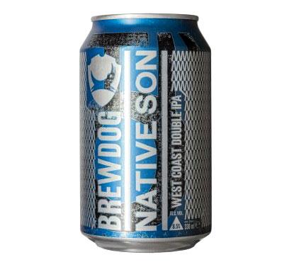 ブリュードッグ ネイティブ サン ウエストコースト ダブルIPA 缶 8.5% 330ml