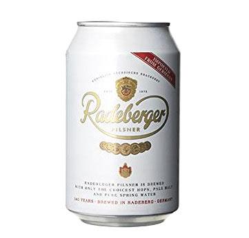 ラーデベルガー ドイツビール 缶 4.8% 330ml