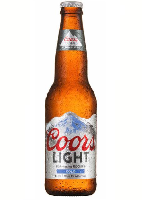 <夏には最高!究極の飲みやすさ!> クアーズ ライト(瓶) 4.0% 330ml