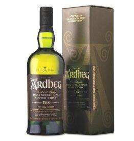 アードベッグ TEN (10年)シングルモルト ウイスキー 46度 700ml アイラモルト