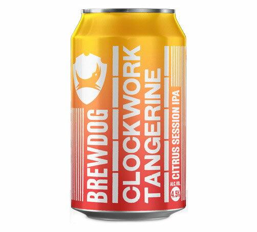 ブリュードッグ クロックワーク タンジェリン IPA 缶 4.5% 330ml