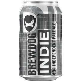 <今月の特価品!!30%OFF!!> 【ケース販売】【送料無料】 ブリュードッグ インディー 缶タイプ (330ml×24本) スコットランド