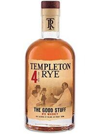 <大幅値下げ!> テンプルトン ライ 4年 ライウイスキー 40% 750ml 【アル・カポネが愛した伝説のブランド!】