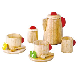 木のおもちゃ お誕生日祝い ギフト PLANTOYS プラントイ ティーセット
