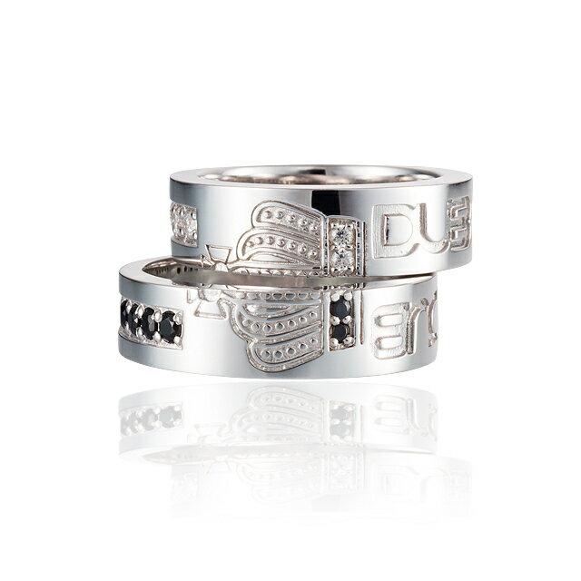DUB Collection Join Crown Ring ジョインクラウンペアリング ペア SV925 シルバー DUBj-263-Pair