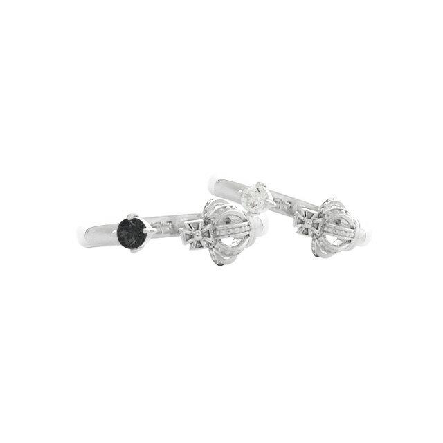 DUB Collection Crown Fork Ring クラウンフォークリング ペア SV925 シルバー DUBj-369-Pair