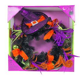 """【送料込み】 ハロウィン リース 直径 約61cm Halloween Wreath 24"""""""