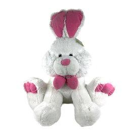 イースターバニー 約60cm ホワイト HUGFUN Sitting Easter Bunny