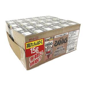 ザバス ミルクプロテイン ココア風味 200ml×24 SAVAS Milk Protein