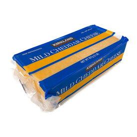 カークランド マイルドチェダーチーズ 907g
