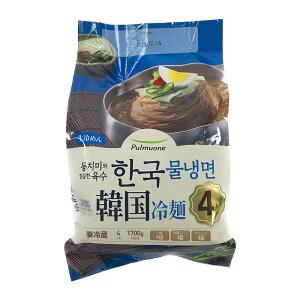 【期間限定】韓国冷麺 からしソース付 1680g (4人前) Pulmuone Korean Cold Noodles