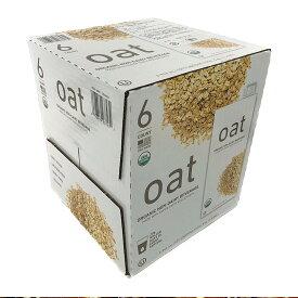オーガニック (有機) オーツミルク 946ml×6本 Organic Oat Beverage