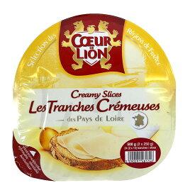 クールドリヨン クリーミースライスチーズ 250g×2 (白カビタイプ) COEUR DE LION SLCD