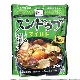李王家 スンドゥブチゲ マイルド 900g (150g×6) Sundubu Jjigae Mild Soup