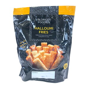 ハルーミ チーズフライ 750g Glorious Foodies Halloumi Cheese Fries