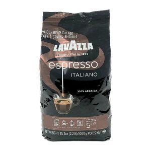 ラバッツァ カフェ エスプレッソ (豆) 1kg LAVAZZA Espresso Whole Bean Coffee