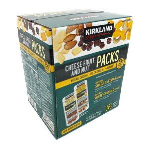 カークランド チーズ/フルーツ/ナッツ スナックパック 43g×16パック KS Cheese Fruits and Nuts