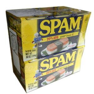 スパムレスソルト(減塩スパム) Hormel SPAM SOLTランチョンミート 340g×6缶 梱2.2kg