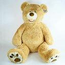 558811 : 【送料無料】超大型♪癒しのテディベア (ベージュ) HUGFUN コストコ・クマのぬいぐるみ 53インチ 135cm