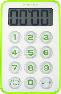DRETEC ( ドリテック ) Flash timer T-184GNT-184RD / timer / kitchen timer / kitchen / / countdown / featured / gift / convenience goods