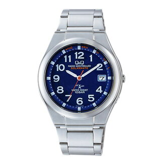 The a19022020 Citizen Watch Q & Q watch] Citizen Watch Q & Q watch Q&Q watch solar electric wave HG12-215 collect on delivery postage is 1,380 yen