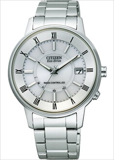 Cash on delivery shipping! [Citizen] CITIZEN watch citizen collection eco-drive radio watch stainless steel model FRD59-2481 mens