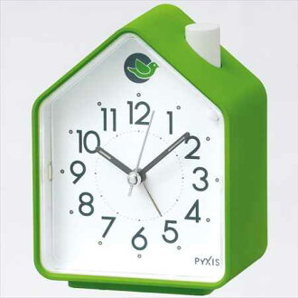 SEIKO CLOCK (Seiko) alarm sound switched (birds chirping) analog alarm clock (green) NR434M
