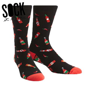 【メール便対応】Sock It To Me[ソック イット トゥ ミー] Hot Sauce ソックス メンズ 靴下 総柄