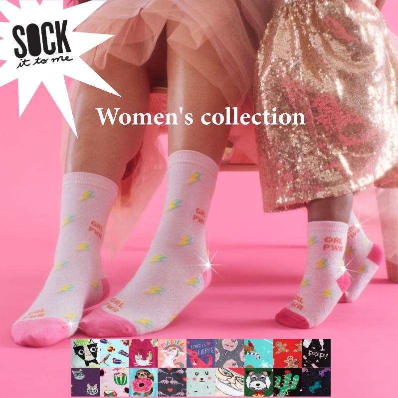 【メール便対応】Sock It To Me[ソック イット トゥ ミー] ソックス レディース 靴下 総柄