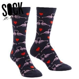 【15%OFFクーポン配布中】【メール便対応】Sock It To Me[ソック イット トゥ ミー] Happy You Exist ソックス レディース 靴下 総柄