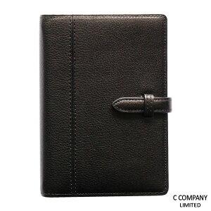 カスール・システム手帳ミニサイズ(リング径13mm)ブラック