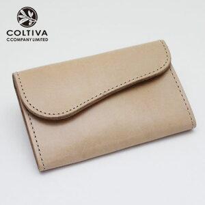 【COLTIVA】コルティヴァ・カードケース(ベージュ)