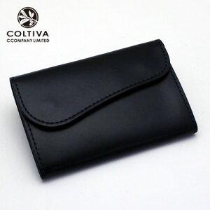 【COLTIVA】コルティヴァ・カードケース(ブラック)