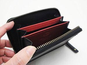 ボルボ・コンパクト財布(ブラック)