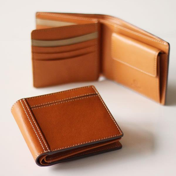 ボルボ 二つ折り財布 二つ折り 革 メンズ レザー ウォレット 革財布 ギフト 名入れ   Cカンパ二ー Cカンパニー シーカンパニー Yep_10 SM ギフト