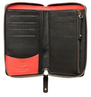 ボルボ・ラウンド財布(ブラック)