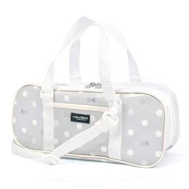 画材バッグ 絵の具バッグ Polka Dot Ribbon 子供用 絵の具 バッグのみ 単品 小学生 サクラクレパス 水彩セット 画材セット 小学校