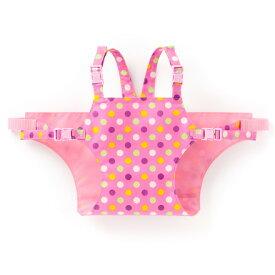 チェアベルト カラフルキュートな大粒ドット(ピンク)【イス用補助ベルト】(赤ちゃん ベビー 出産祝い女の子)