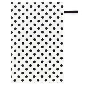 おむつ替えシート polka dot large(broadcloth・white)【オムツ交換シート】(赤ちゃん ベビー 出産祝い男の子 女の子)