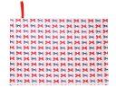 レジャーシート ポルカドットとストライプのフレンチリボン(スケアー地・アイボリー) 日本製 【ピクニックシート レジャーマット】(あす楽/子ども/子供/保育園/...