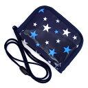 キッズコインケース(ひも付き) ブリリアントスター 紺 (ひも付 コインケース キッズ 財布 子供 お財布 紐 ひも付き …