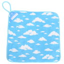 【1月限定 先得ポイント10倍キャンペーン】ループタオル 青い空に白い雲 (ループタオル ループ付きタオル 紐付きタ…