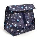 ランチバッグ・保冷弁当袋 スタンダード スターライトプラネット(スケアー地・紺) (ランチトート 保冷バッグ 子供…