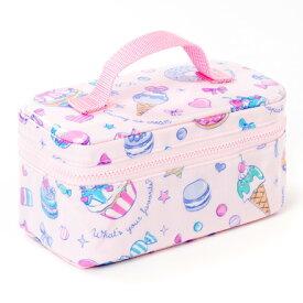 ランチバッグ 子供用 保冷弁当袋 お弁当 保冷バッグ ランチバッグ 幼稚園 ランチバッグ 保冷 ミルキースイーツ ピンク 女の子