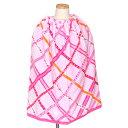 ラップタオル・プールタオル 巻きタイプ リボンチェックに包まれて 日本製 【ビーチタオル】(あす楽/子供/子ども/…